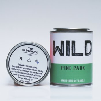 The Old School Candle - Wild Candle
