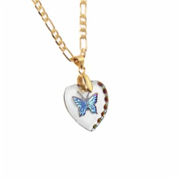 Venus Exotica - Heart of Glass The Butterfly Necklace