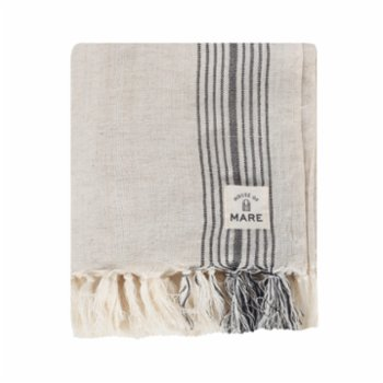 House of Mare - Striped Linen Pesthemal