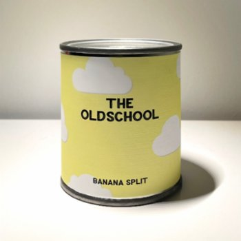 The Old School Candle - Banana Split Candle