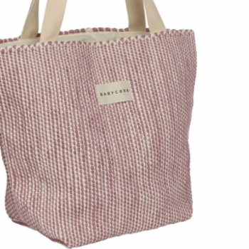 Babycord - Striped Hand Made Tote Bag