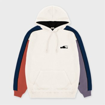 Fifty Pieces - Contrast Colored Hoodie