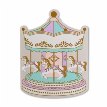 Cheerlabs - Sound Recording Greeting Card - Carousel