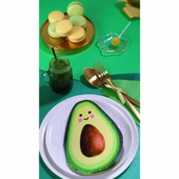 Cheerlabs - Greeting Card with Sound Recording - Avocado