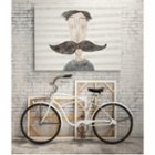 ekinakis Moustache Love Matte Photo Paper - Striped