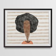 ekinakis  Afro Love Matte Photo Paper
