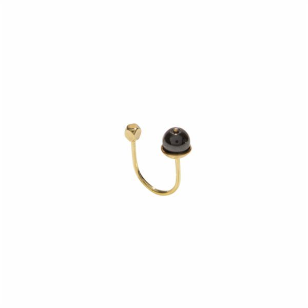 [Add]Tension U Ring - Single Hematite