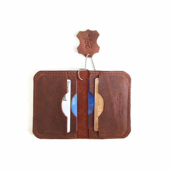 Tox Leather Credit Card Case