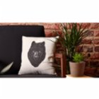 Nice to Have Gray Wolf Pillow
