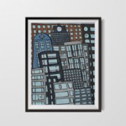 ekinakis  Neighborhood Matte Photo Paper