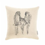 Palmhouse   Parrot Pillow