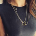 [Add]Tension Chain Necklace