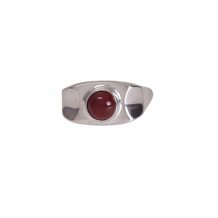 [Add]Tension Flat Ring in Agate