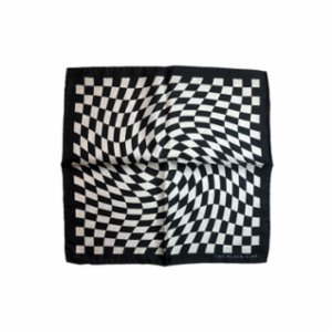 The Black Ears  The Finish Point Pocket Square