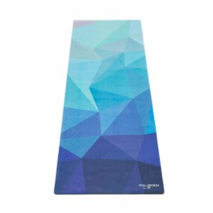 Yoga Design Lab  Geo Blue - Combo Yoga Mat