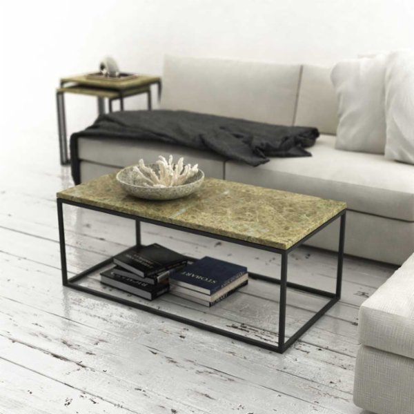 Marmore Rectangular Side Table