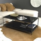 Marmore Double Rectangular Side Table