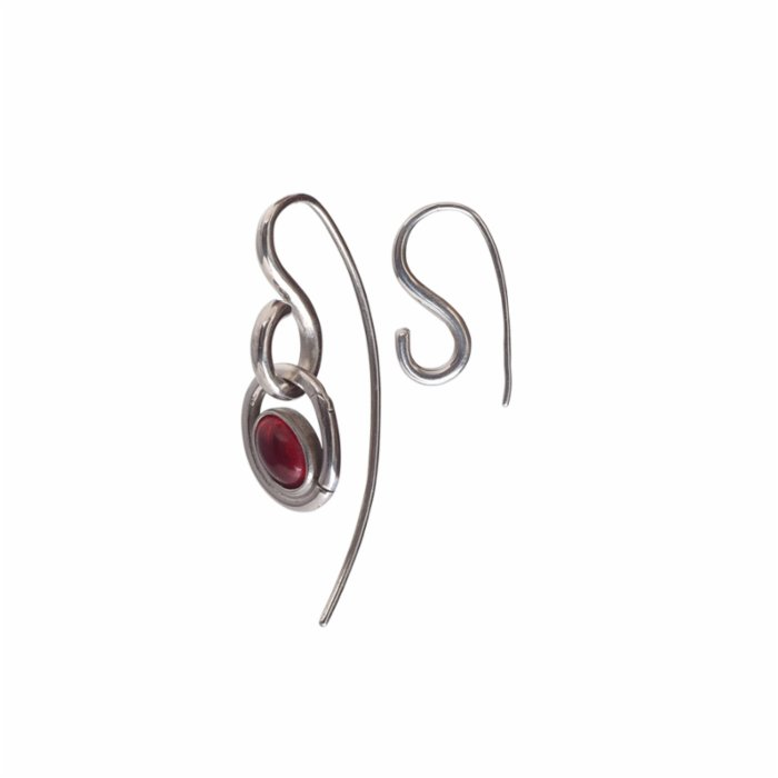 [Add]Tension S Earring - Short with Optional Stone