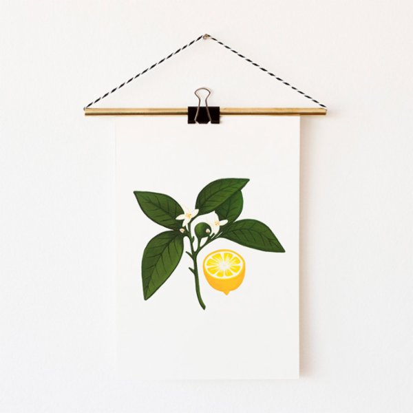 Nice to Have Giclee Print - Lemon