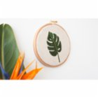 Nice to Have Needlework -  Monstera Frame