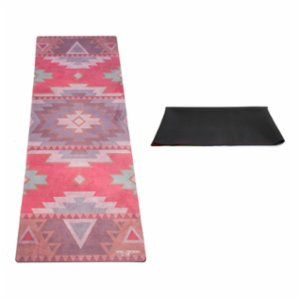 Yoga Design Lab  Travel Mat - Tribal Coral