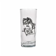 Remo  Flying Lady Glass