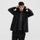 Rains Jacket Raincoat - Black