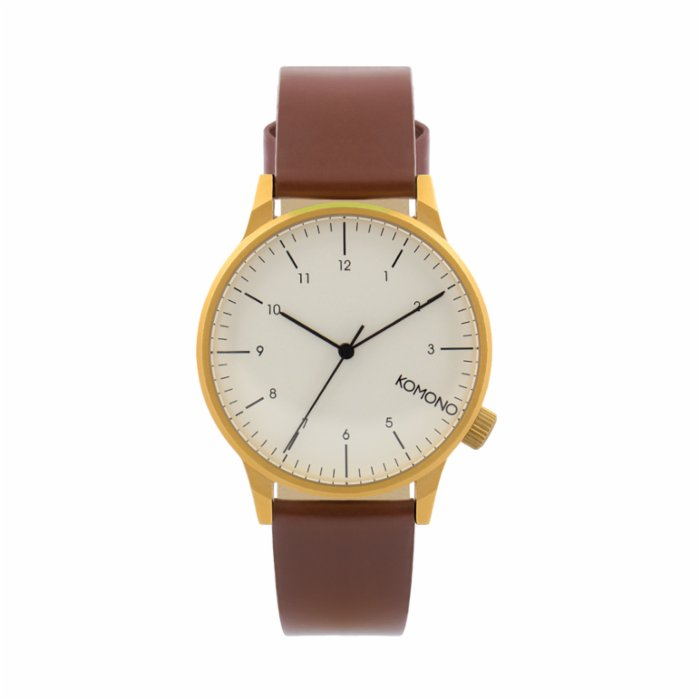 Komono Winston Regal Chestnut Watch