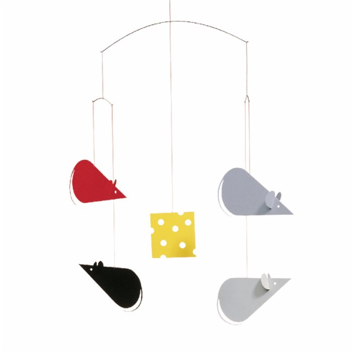 Flensted Mobiles Cheese & Mice Mobile