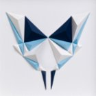 Paperpan Ice Butterfly Artwork