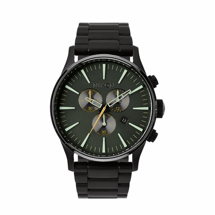 Nixon Sentry Chrono Matte Black Watch