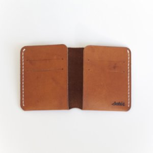 Sakin Leather	  Minimal Bi-fold Wallet