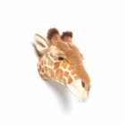 Wild & Soft Ruby Giraffe Wall Decor