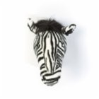 Wild & Soft Daniel Zebra Wall Decor