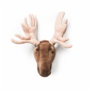 Wild & Soft  Alfred Moose Wall Decor
