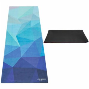 Yoga Design Lab  Geo Blue - Travel Yoga Mat