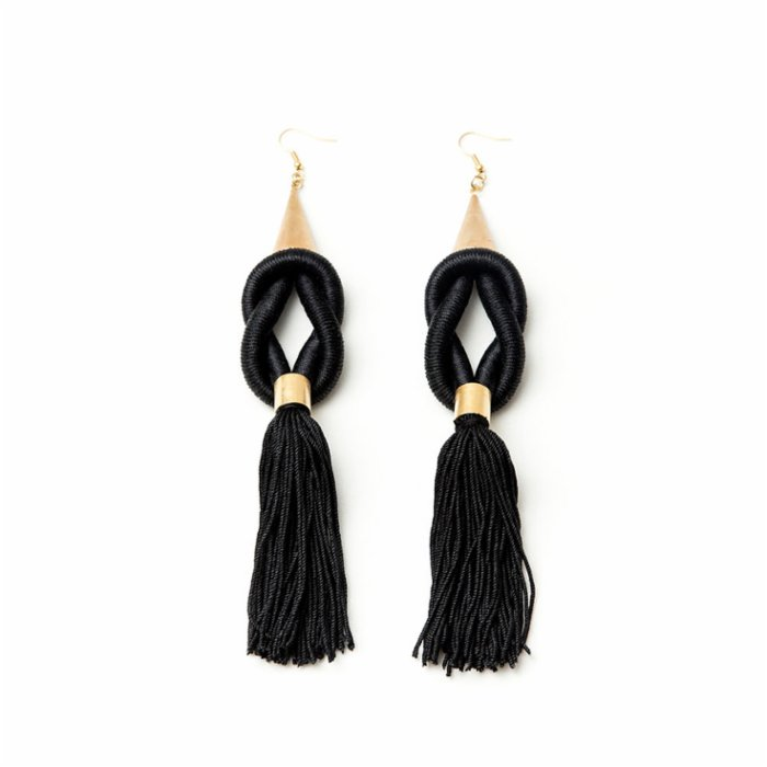 Nature Of The Things Tassel Queen Earrings