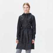 Rains  Curve Jacket Raincoat - Black