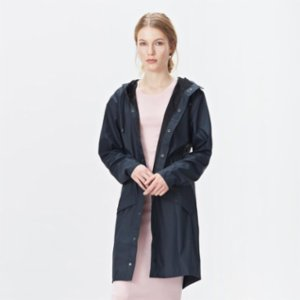 Rains  Long Jacket Raincoat - Blue