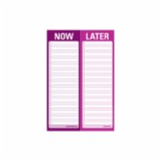 Knock Knock  Now / Later Perforated Pad
