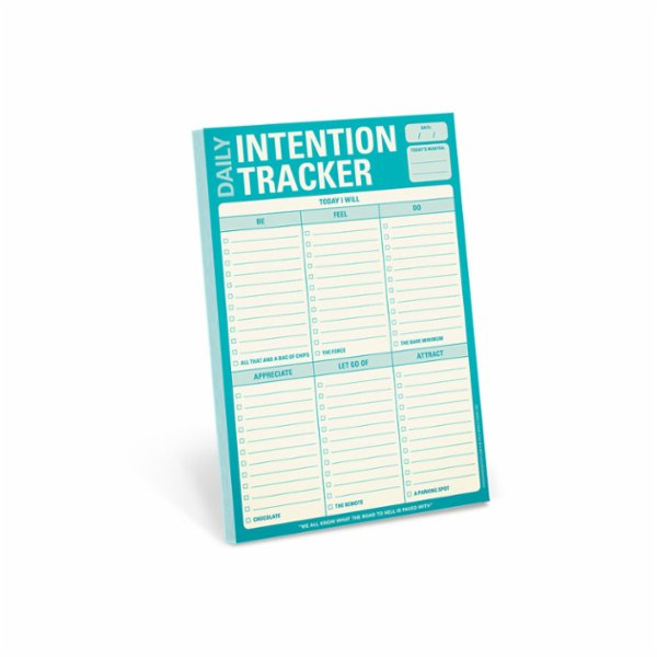 Knock Knock Daily Intention Tracker Pad
