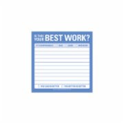 Knock Knock  Best Work - Sticky Note