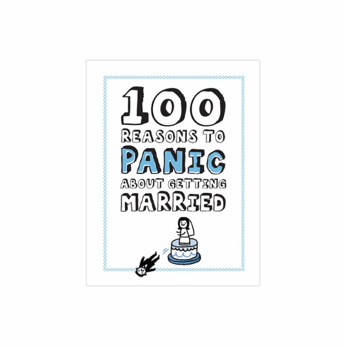 Knock Knock 100 Reasons to Panic about: Getting Married