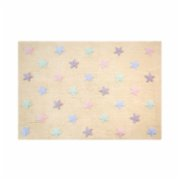 Lorena Canals	  Stars Tricolor Kids Rug