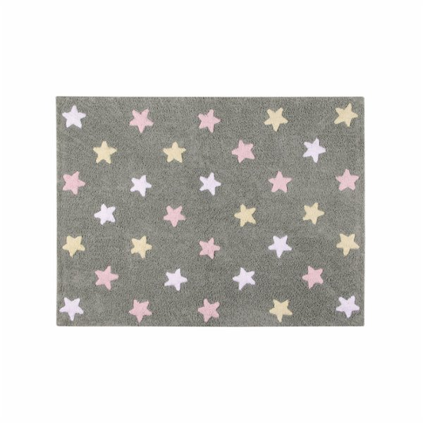 Lorena Canals Stars Tricolor Rug