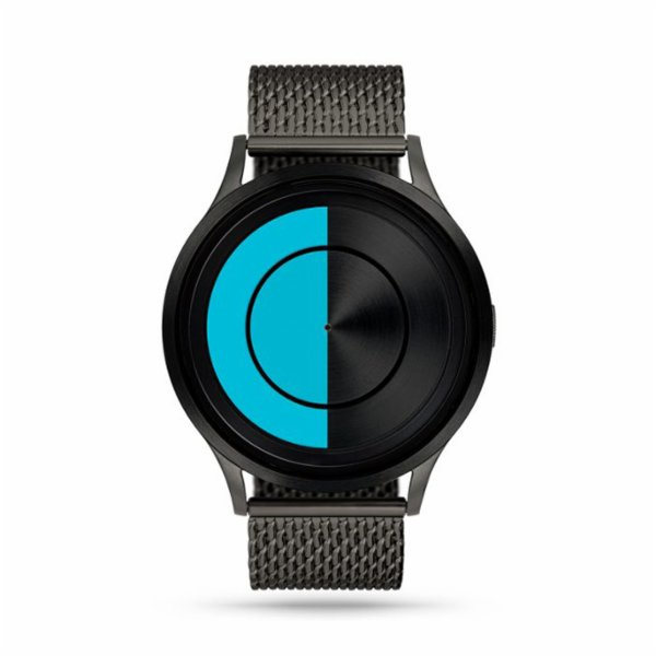 Ziiiro Lunar Gunmetal Ocean Watch