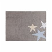 Lorena Canals	  Three Stars Tricolor Rug