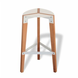 Katman	  Leaf Bar Stool