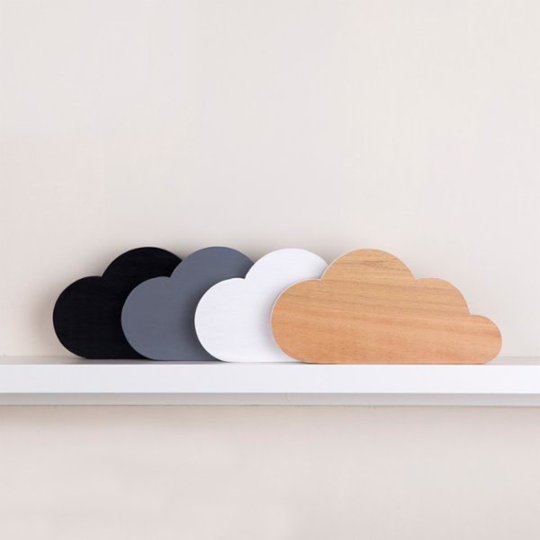 Figg Nova Cloud Wooden Block