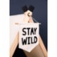 Figg Stay Wild Pennant Flag